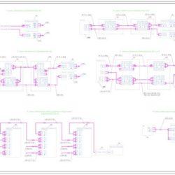 Электрические схемы подключений аналоговых видеокамер