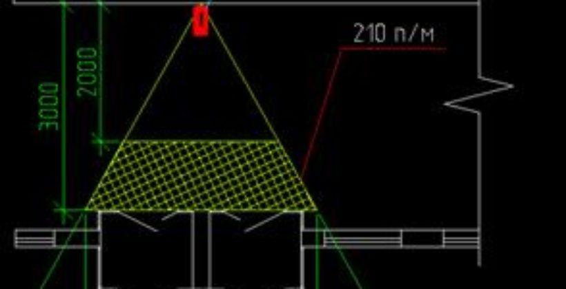 Пример расчета соотношения пиксель/метр