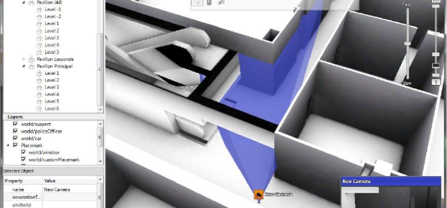 3D Camera Tool — программа для проектирования от Pelco