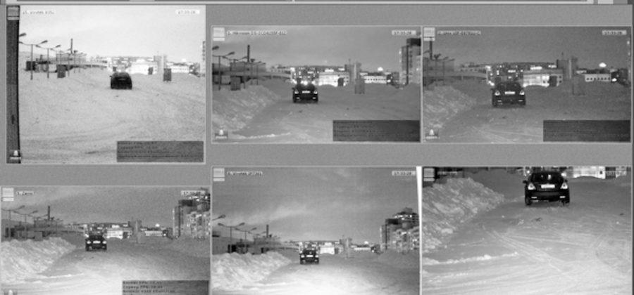 Тест IP видеокамер с ИК подсветкой
