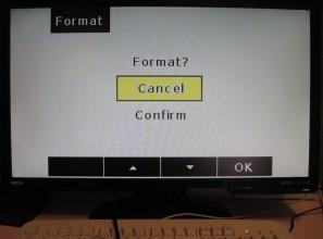 Настройка видеорегистратора: форматирование карточки