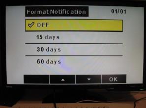Настройка видеорегистратора: уведомления