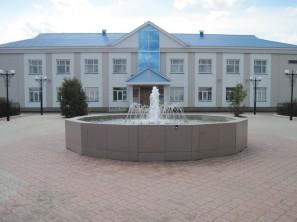 Фонтан в Батырево