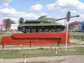 Танк в Батырево