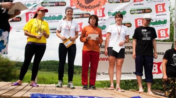 Победители марафона Налибоки
