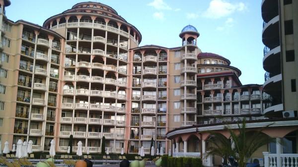 Андалусия - вид на отель