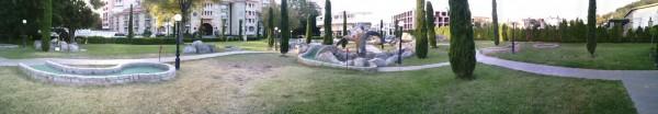 Андалусия - панорама, площадка для гольфа