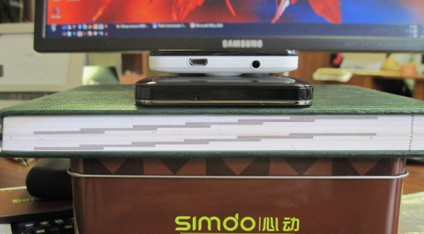 Simdo D98 - разъемы