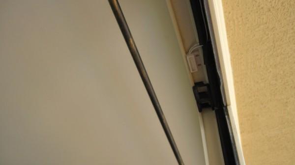 Магнитоконтактный извещатель на балконе