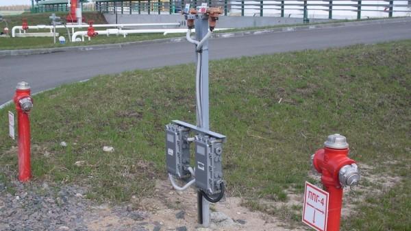 Взрывозащищенный пост и коробка