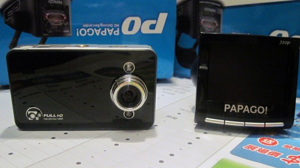 Papago P0 и K6000