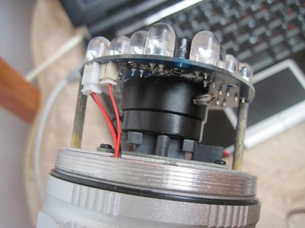 Внутренности IP видеокамеры
