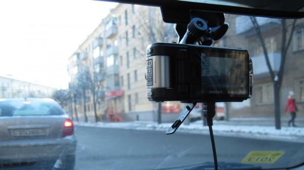 Anytek F900D в автомобиле