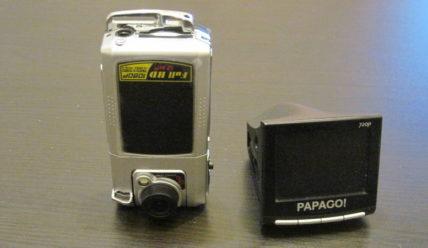 Подделка под видеорегистратор DOD F900HD