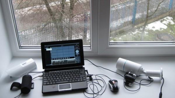 Оборудование используемое в тесте ИК подсветки