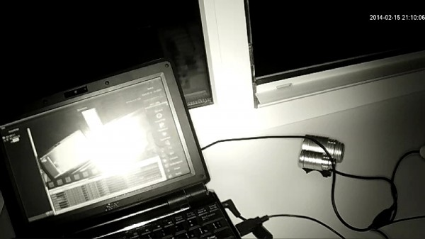 Включаю фонарик, помогаю ИК подсветке