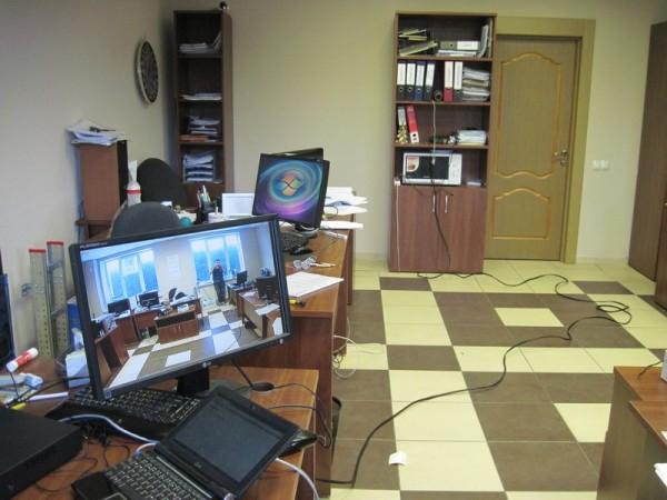 Комната в которой проходит тест