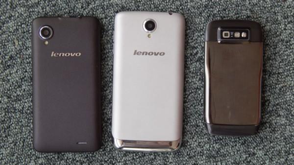 Lenovo S650, P770 и Nokia E71