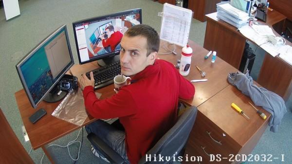 Видеонаблюдение за моим рабочим местом