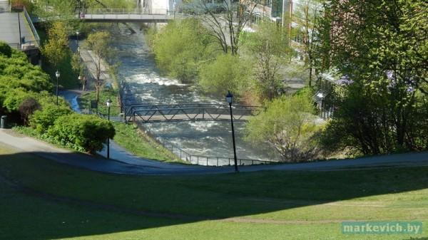 Фото Осло: река