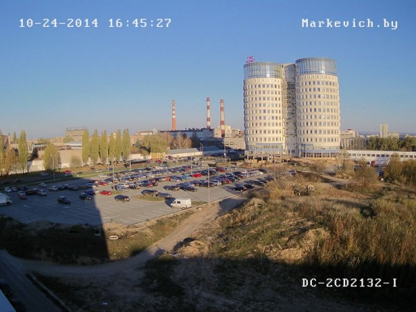 Hikvision DS-2CD2132-i - улица