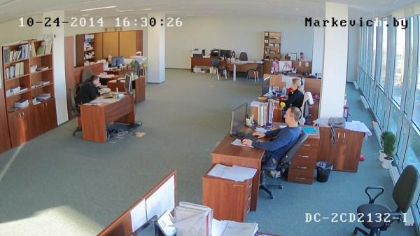 Hikvision DS-2CD2132-i - офис