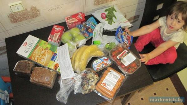 Корона в Минске: продукты