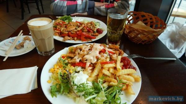 Ужин в кафе Осло