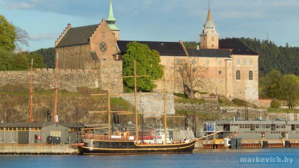Крепость в Осло