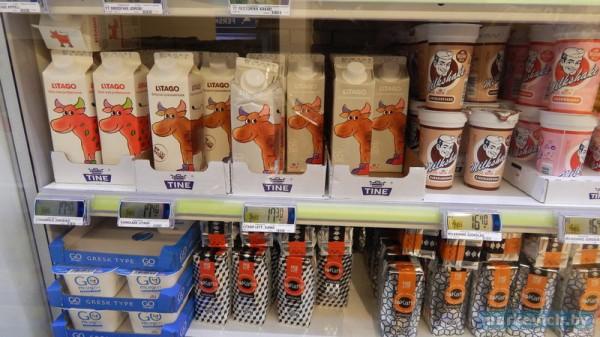Осло Rema 1000: молоко
