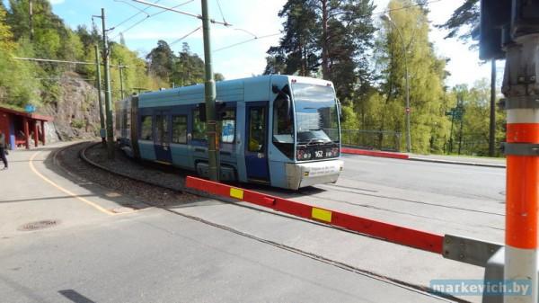 Трамвай в Осло