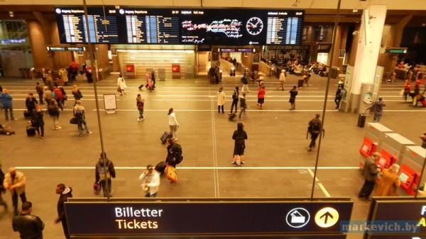 Железнодорожный вокзал в Осло