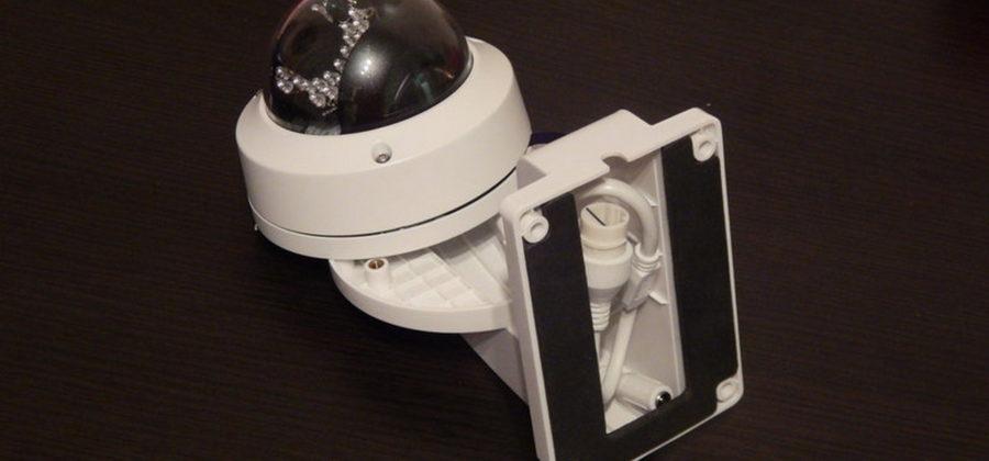 Установка камеры DS-2CD2132-I в кронштейн