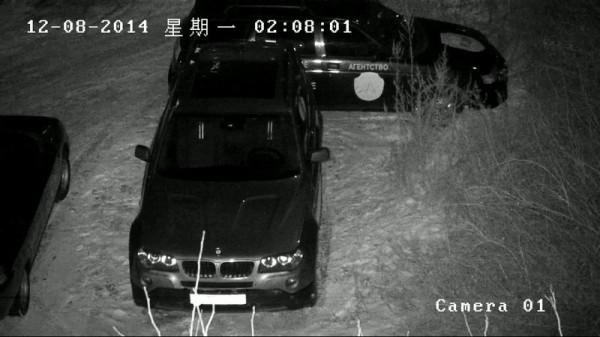 Hikvision DS-2CD2032-I ночь с ИК прожектором