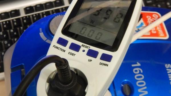 Ваттметр PMB-2-EU - потр. мощность пылесоса