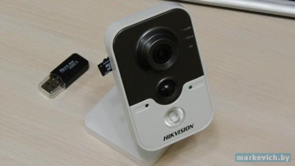 MicroSD 64 GB и Hikvision
