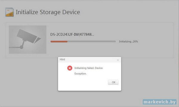 Инициализация китайской microSD 64Gb