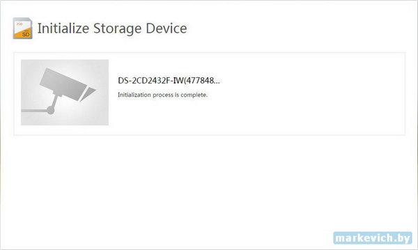 Инициализация microSD 32Gb