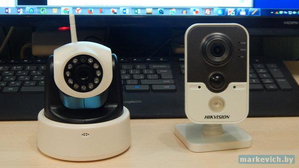 Zenith E1 и Hikvision (вид спереди)