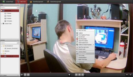 Настройка записи звука на камерах Hikvision серии DS-2CD24x2F