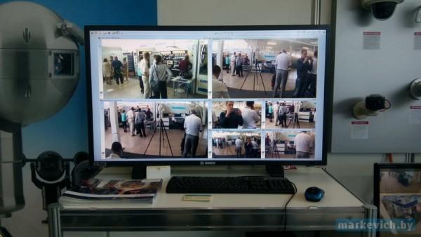 Видеонаблюдение от Bosch