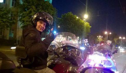 ДТП с мотоциклистом на перекрестке в Минске