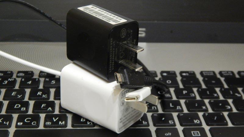 Зарядное Letv 1s - USB Type C