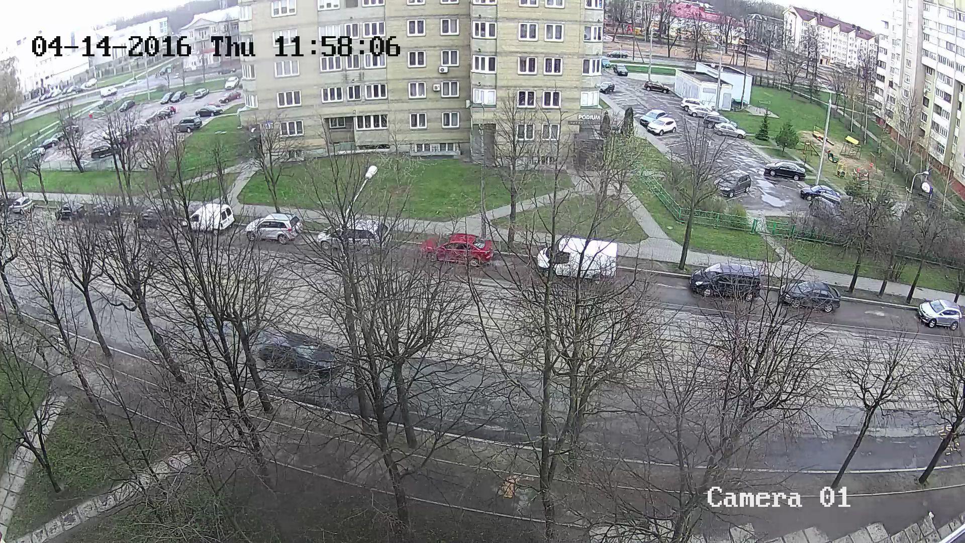 Hikvision FullHD - день