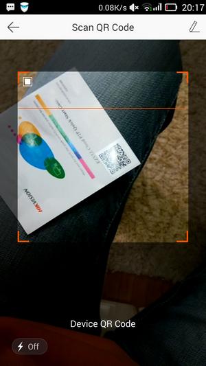 Ezviz - QR-код