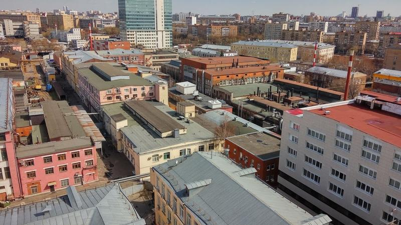 Radisson Blu Белорусская - вид из окна