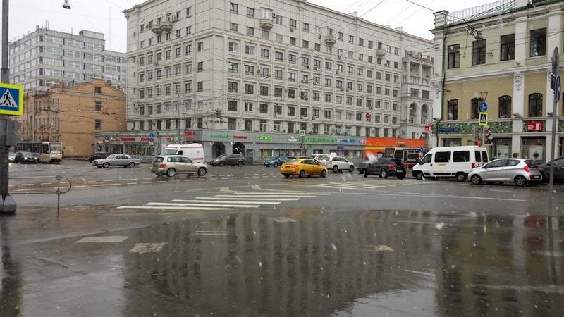 Погода 16.04.16. Москва