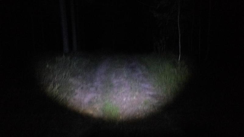 Марафон Налибоки - свет фонарика