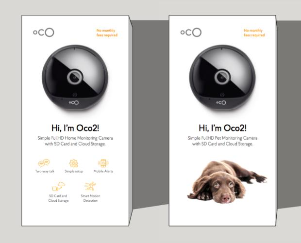 Варианты упаковки Oco2