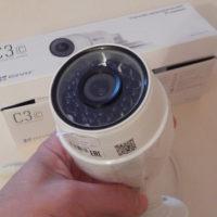 Уличная WiFi камера Ezviz C3C с microSD картой до 128Gb